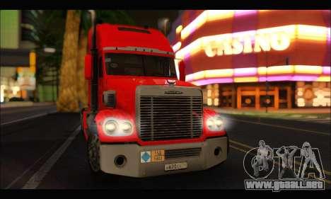 Freightliner Coronado v.2 para la visión correcta GTA San Andreas