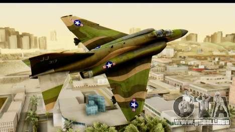 F-4 Vietnam War Camo para GTA San Andreas vista posterior izquierda