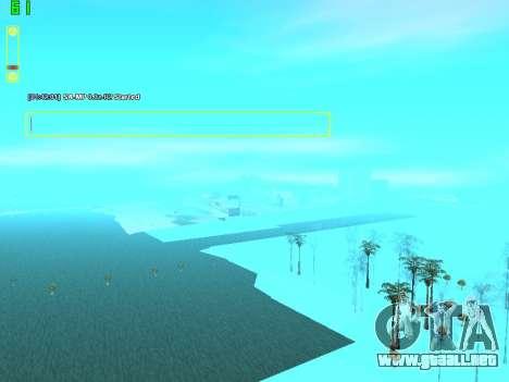 SampGUI Vagos Gang para GTA San Andreas tercera pantalla