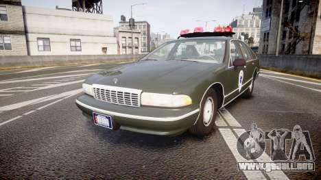 Chevrolet Caprice 1993 Detroit Police para GTA 4