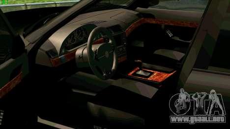BMW 730i para vista lateral GTA San Andreas