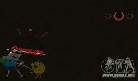 C-HUD Jack and Finn para GTA San Andreas tercera pantalla