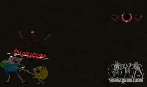 C-HUD Jack and Finn para GTA San Andreas
