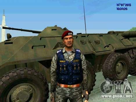 El Capataz Del Águila para GTA San Andreas segunda pantalla