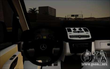 Mercedes-Benz Vito para GTA San Andreas