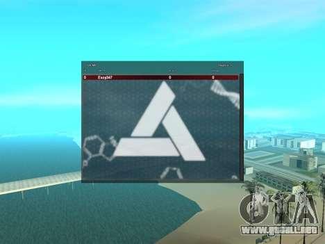 SampGui estilo Abstrego para GTA San Andreas