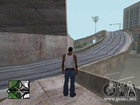 Plaza de radar de GTA 5 para GTA San Andreas