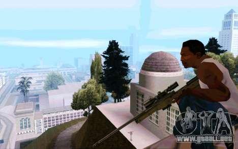 AWP L96 para GTA San Andreas sucesivamente de pantalla