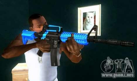 M4 RevoFX para GTA San Andreas tercera pantalla