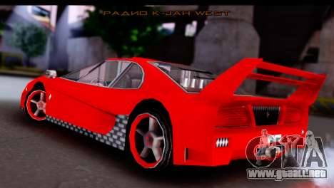 Turismo Pro X para GTA San Andreas left
