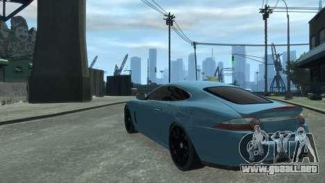 Jaguar XK v.2.0 para GTA 4 visión correcta