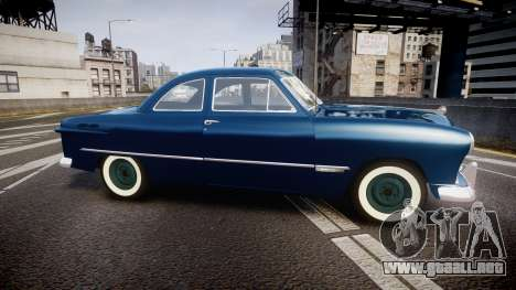 Ford Custom Club 1949 para GTA 4 left