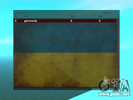 SampGUI Bandera De Ucrania para GTA San Andreas