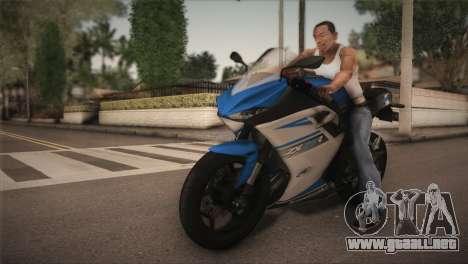Kawasaki Ninja ZX25R para GTA San Andreas