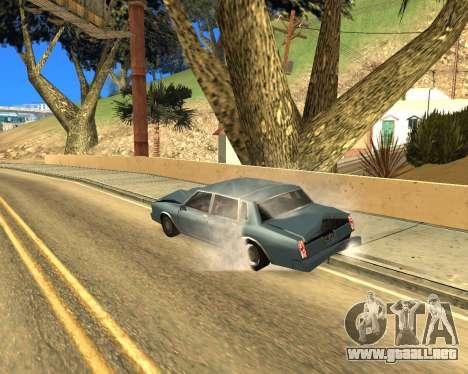 Ledios New Effects para GTA San Andreas novena de pantalla