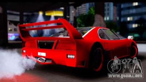 Turismo Pro X para la visión correcta GTA San Andreas