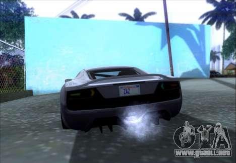 Scalfati GT (Watch Dogs) para vista lateral GTA San Andreas