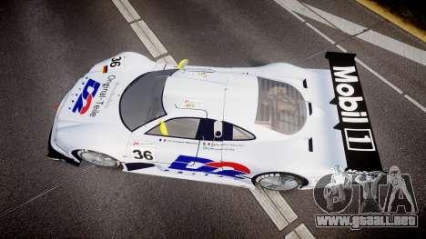 Mercedes-Benz CLK LM 1998 PJ36 para GTA 4 visión correcta