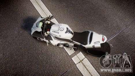 Yamaha YZF-R1 Custom PJ1 para GTA 4 visión correcta
