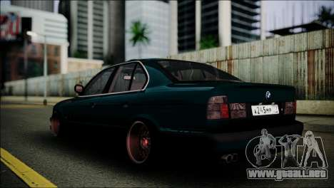 BMW 525 E34 para GTA San Andreas left