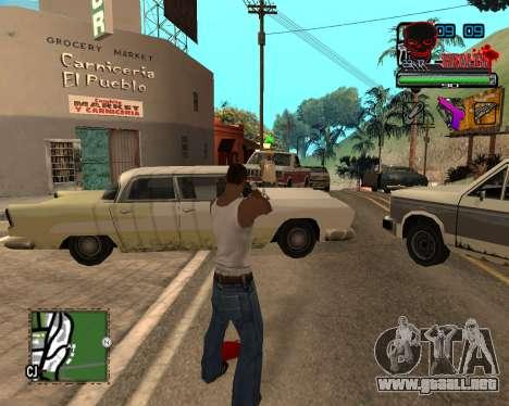 C-HUD Tawer Ghetto para GTA San Andreas tercera pantalla