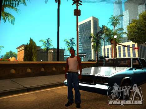 ENB v1.3 para PC débil para GTA San Andreas tercera pantalla