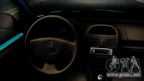 Renault Clio Beta v1 para la visión correcta GTA San Andreas
