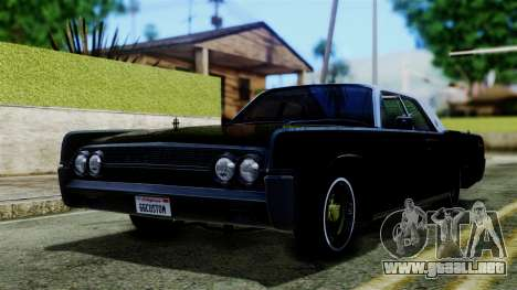 Lincoln Continental para GTA San Andreas