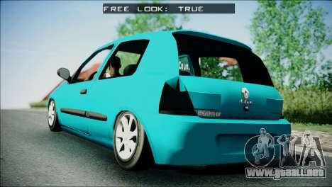 Renault Clio Beta v1 para GTA San Andreas left