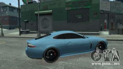 Jaguar XK v.2.0 para GTA 4 left
