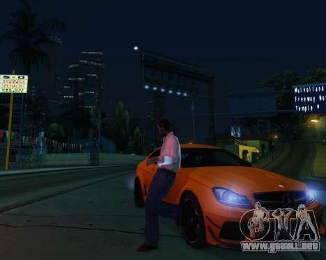 ENB by Robert v8.3 para GTA San Andreas sucesivamente de pantalla
