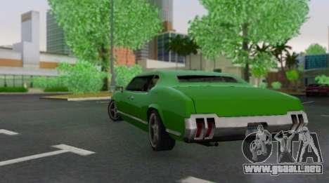 Sabre Limousine para la visión correcta GTA San Andreas