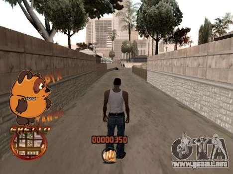 C-HUD PYX TAWER GHETTO para GTA San Andreas