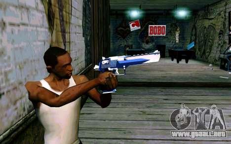 Blue Dragon Deagle para GTA San Andreas