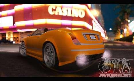 Enus Cognoscenti Cabrio (GTA V) (IVF) para GTA San Andreas left
