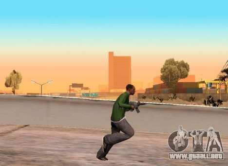 Realista de la marcha para GTA San Andreas segunda pantalla