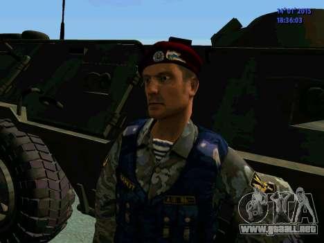El Capataz Del Águila para GTA San Andreas quinta pantalla