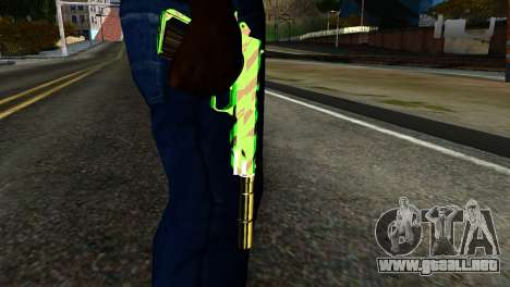 New Silenced Pistol para GTA San Andreas tercera pantalla