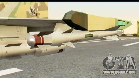 SU-35 Flanker-E ACAH para la visión correcta GTA San Andreas