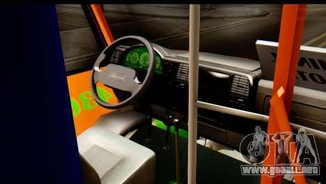 Dodge Ram Microbus para la visión correcta GTA San Andreas