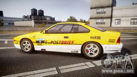 BMW E31 850CSi 1995 [EPM] E-Post Brief para GTA 4 left