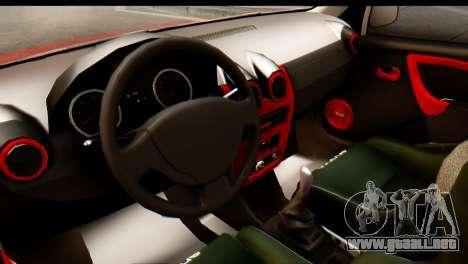 Dacia Logan MXP para la visión correcta GTA San Andreas