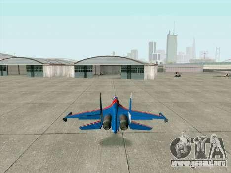 SU-30 MK 2 para la visión correcta GTA San Andreas