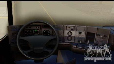 Scania P340 para visión interna GTA San Andreas