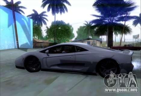 Scalfati GT (Watch Dogs) para visión interna GTA San Andreas