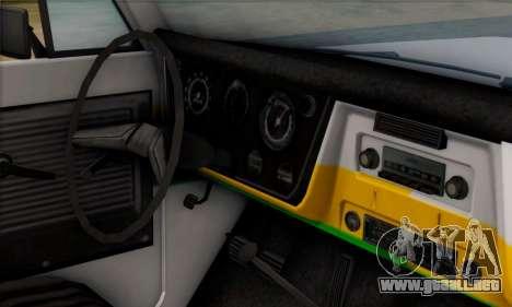 Chevrolet C10 1972 Policia para la visión correcta GTA San Andreas