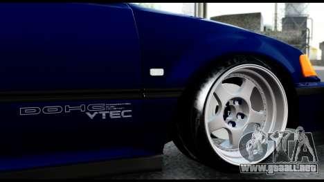 Honda Civic 4gen JDM para visión interna GTA San Andreas