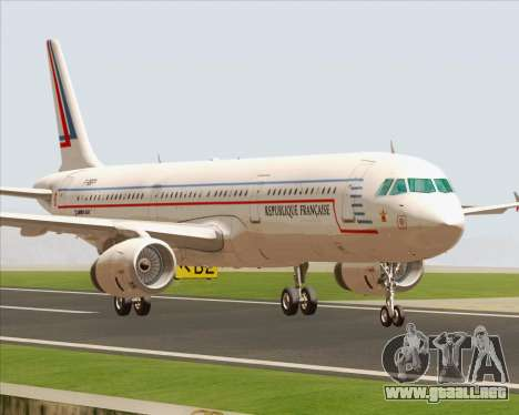 Airbus A321-200 French Government para GTA San Andreas