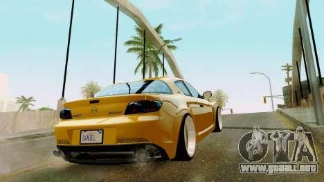 ENB Kenword Try para GTA San Andreas sucesivamente de pantalla