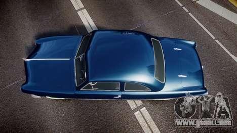 Ford Custom Club 1949 para GTA 4 visión correcta